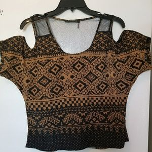 Foreign Exchange Bohemian Blouse / Top